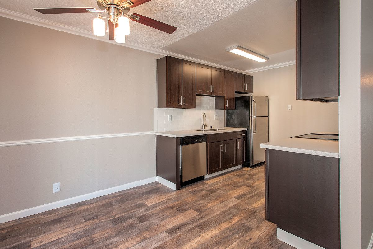 Luxury Kitchen at La Valencia Apartment Homes in Campbell