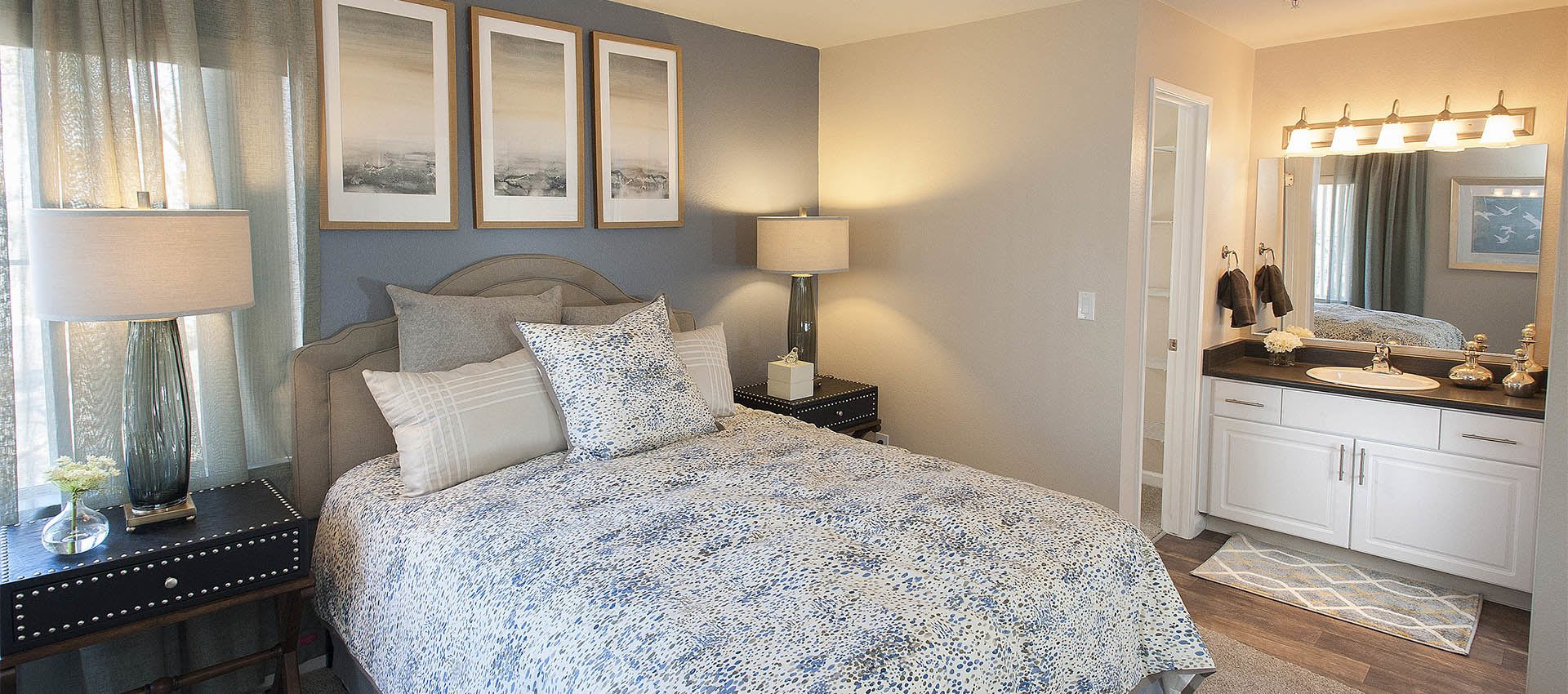 Mill Springs Park Apartment Homes Apartments offer Large Master Bedrooms