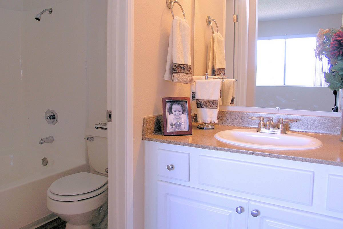 Bathroom at Niguel Summit Condominium Rentals