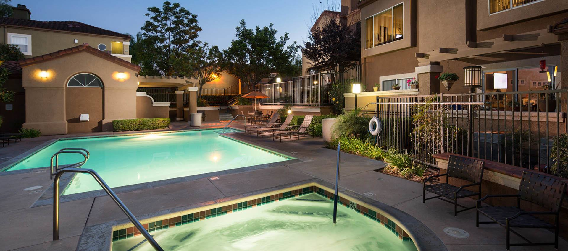 Resort Style Pool And Spa at Niguel Summit Condominium Rentals in Laguna Niguel, CA