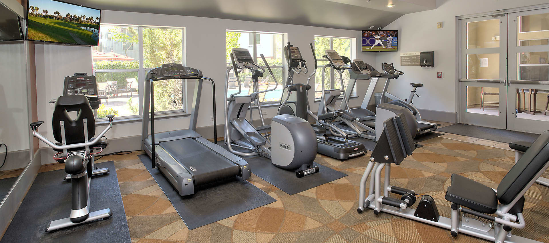 Two 24-Hour Fitness Centers at Azure Apartment Homes in Petaluma, California
