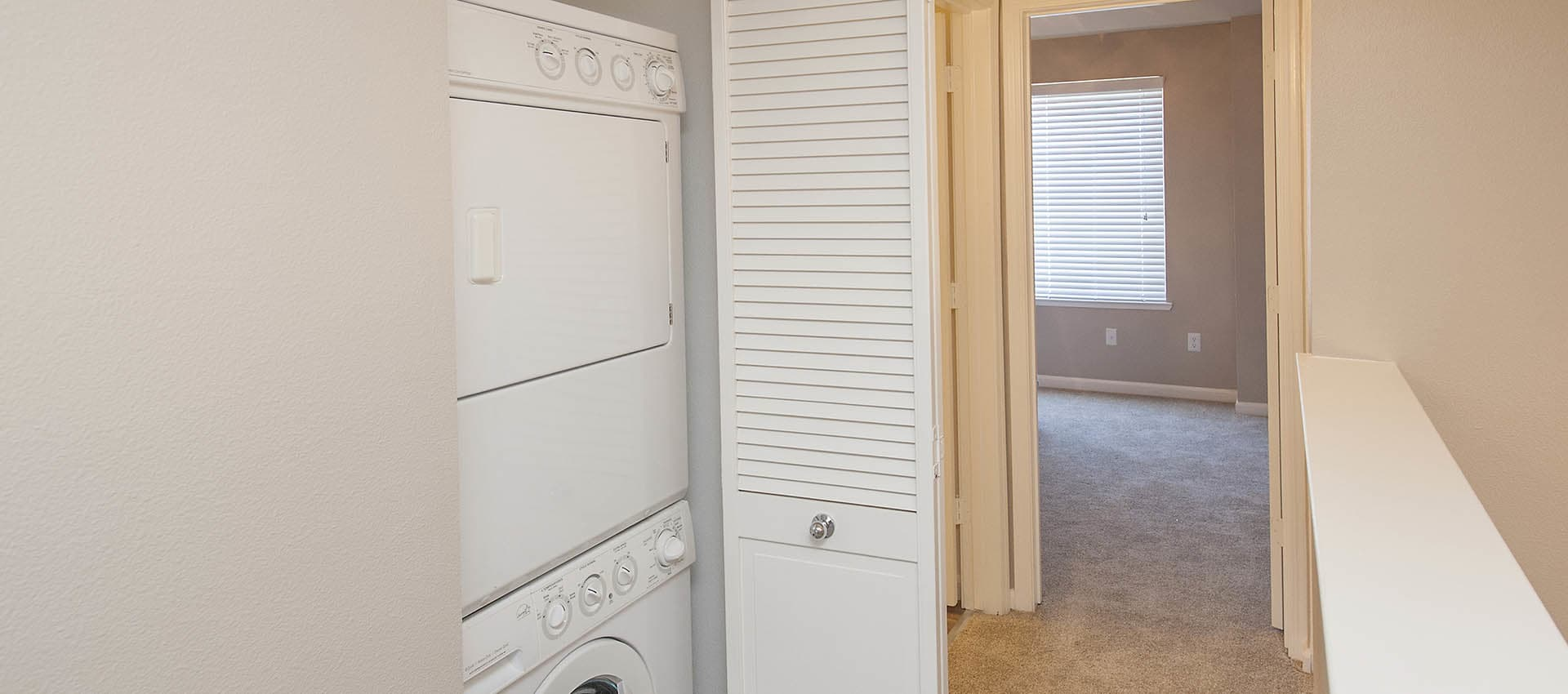 Washer And Dryer at Azure Apartment Homes in Petaluma, California