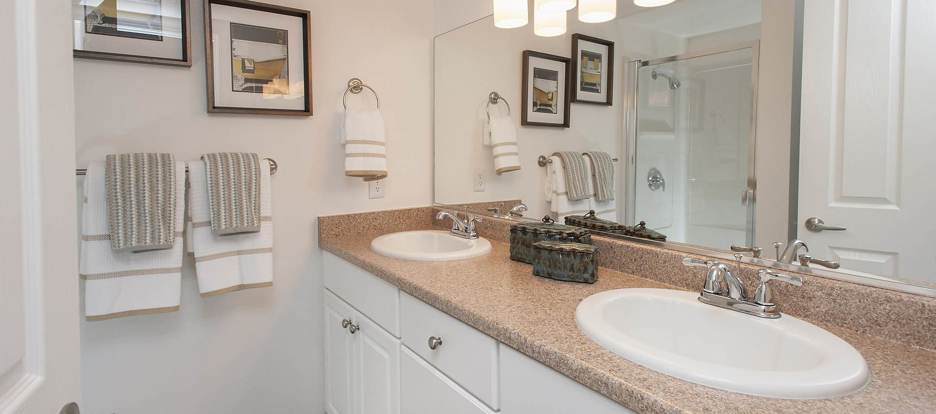 Well Lit Bathroom at Azure Apartment Homes in Petaluma, California