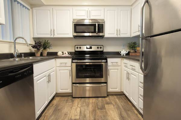 Luxury features at Park Ridge Apartment Homes in Rohnert Park