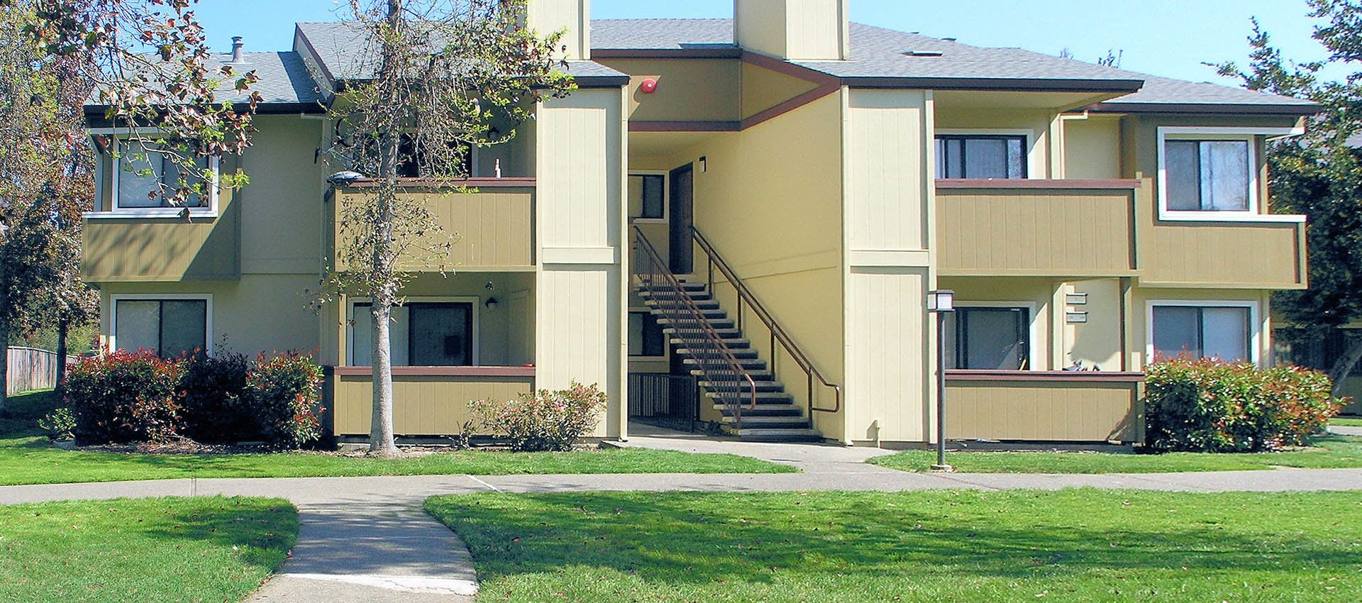 View of apartments in Rohnert Park