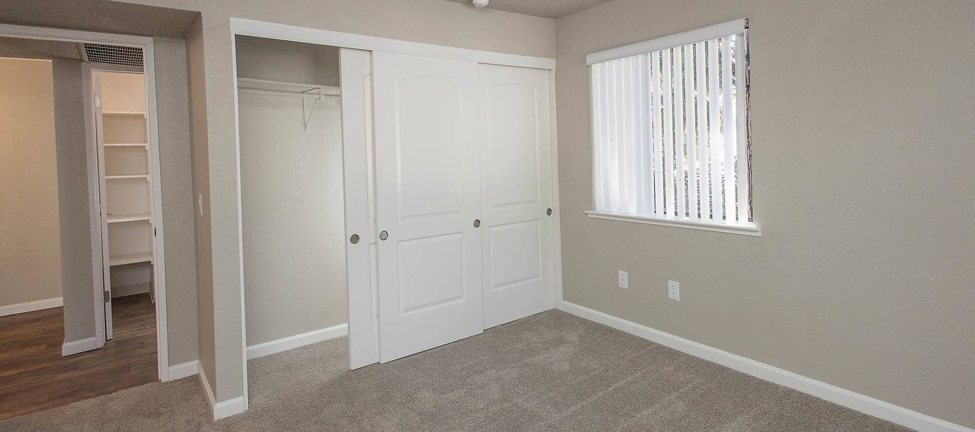 Large Closet In Bedroom at Plum Tree Apartment Homes in Martinez, California