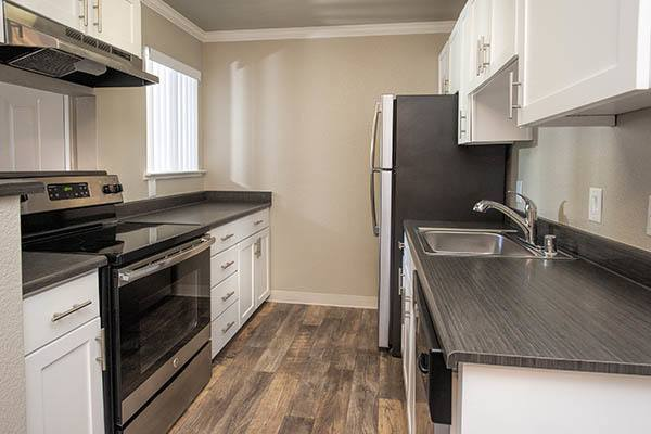 Luxury features at Plum Tree Apartment Homes in Martinez