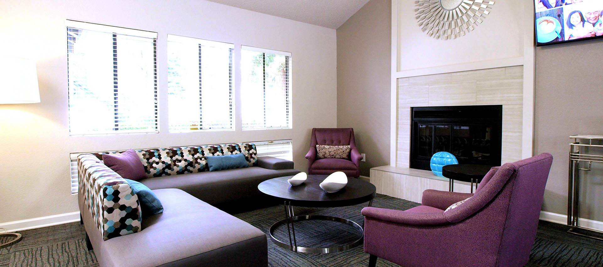 Lounge Seating at Plum Tree Apartment Homes in Martinez, California