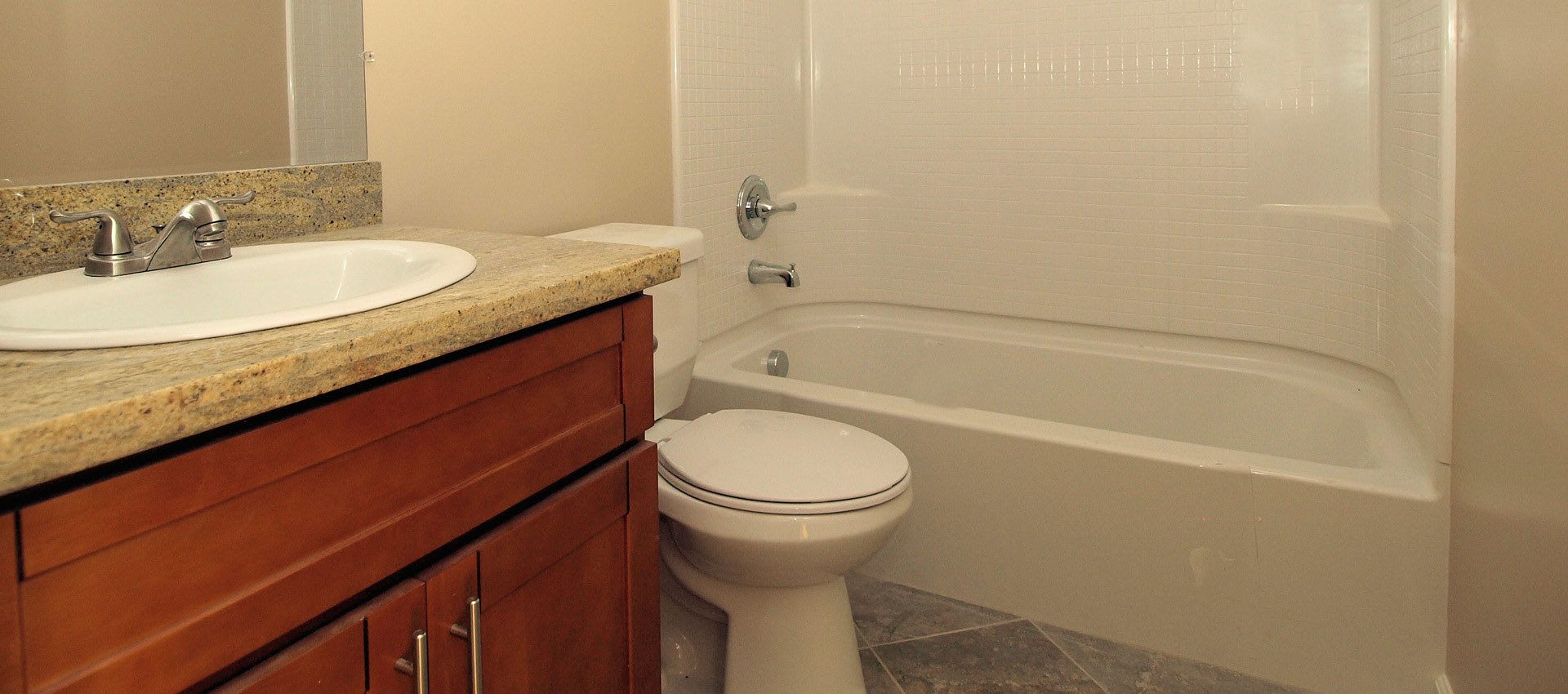 Bath at Regency Plaza Apartment Homes