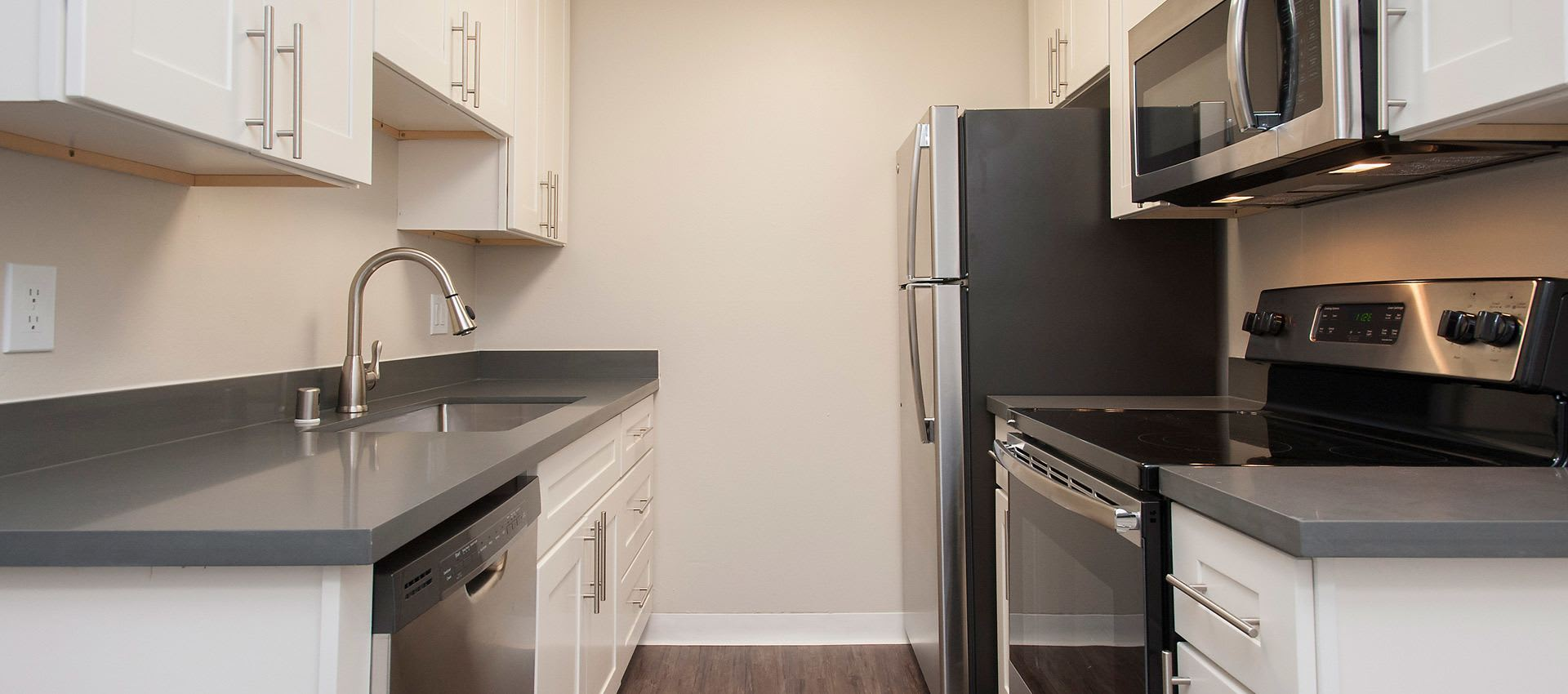 Kitchen at Regency Plaza Apartment Homes
