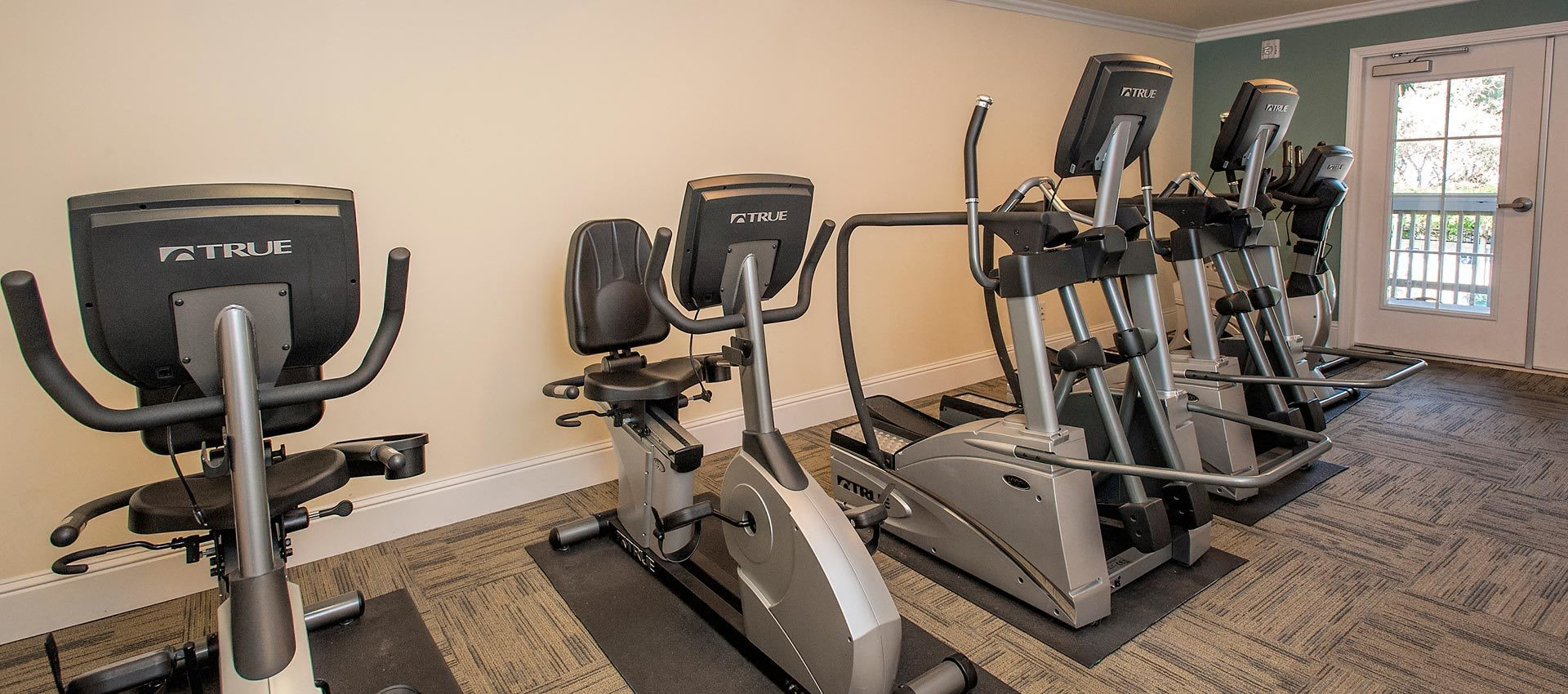Fitness Center at apartments in Martinez, CA