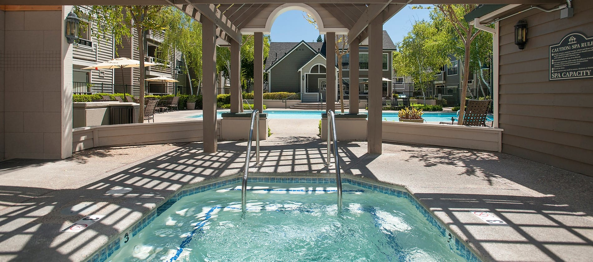 Spa at Reserve at Capital Center Apartment Homes in Rancho Cordova, CA