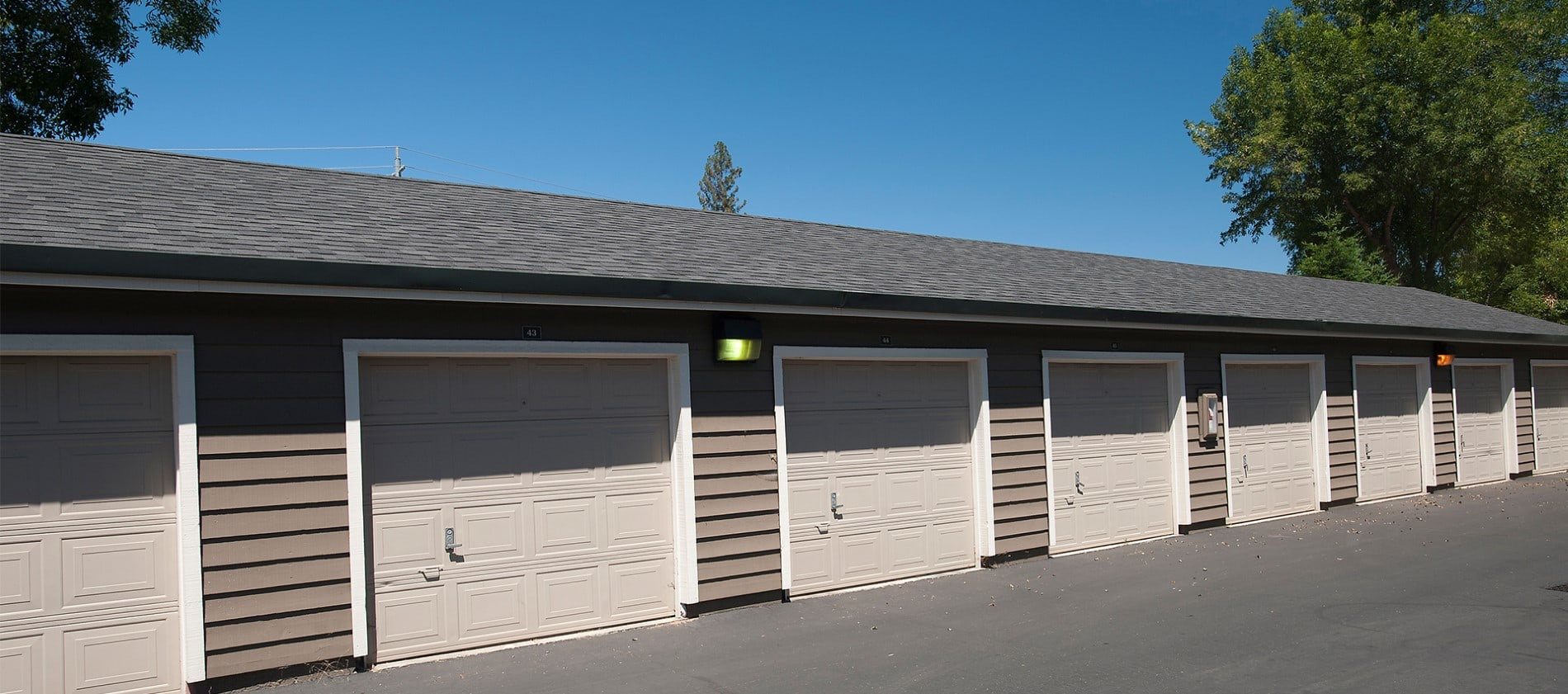 Garages at Reserve at Capital Center Apartment Homes in Rancho Cordova, CA