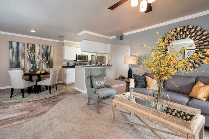 Luxury features at Reserve at Capital Center Apartment Homes in Rancho Cordova