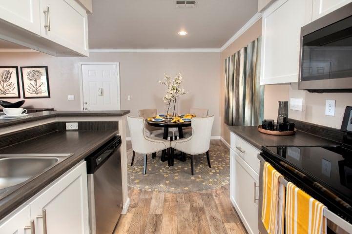 Kitchen Renovation at Reserve at Capital Center Apartment Homes