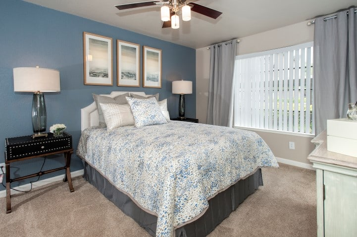 Bedroom at Reserve at Capital Center Apartment Homes