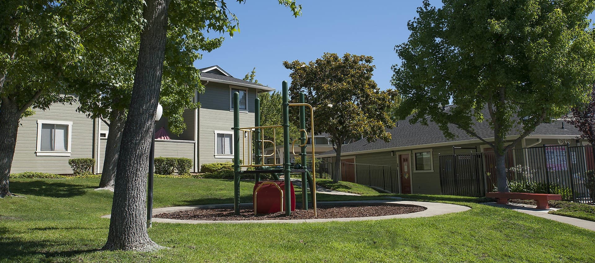 Ridgecrest Apartment Homes has many amenities including a playground