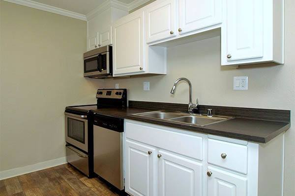Standard features at Ridgecrest Apartment Homes in Martinez