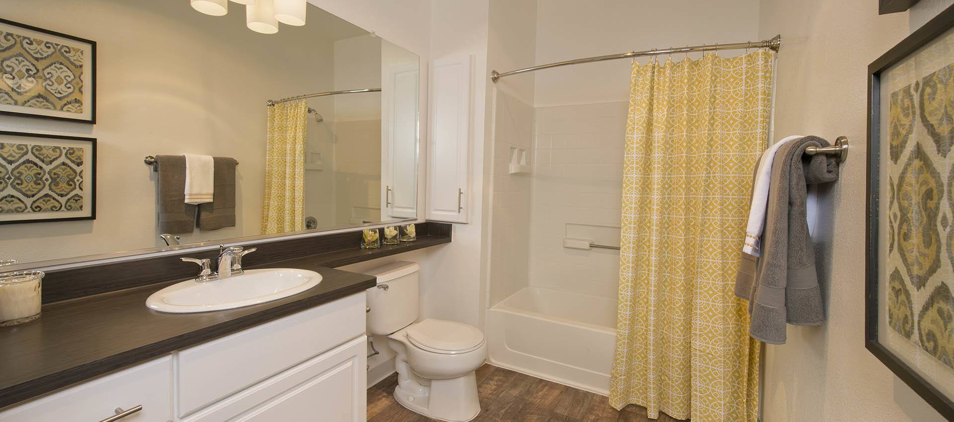 Spacious Bathroom at Rosewalk at San Jose