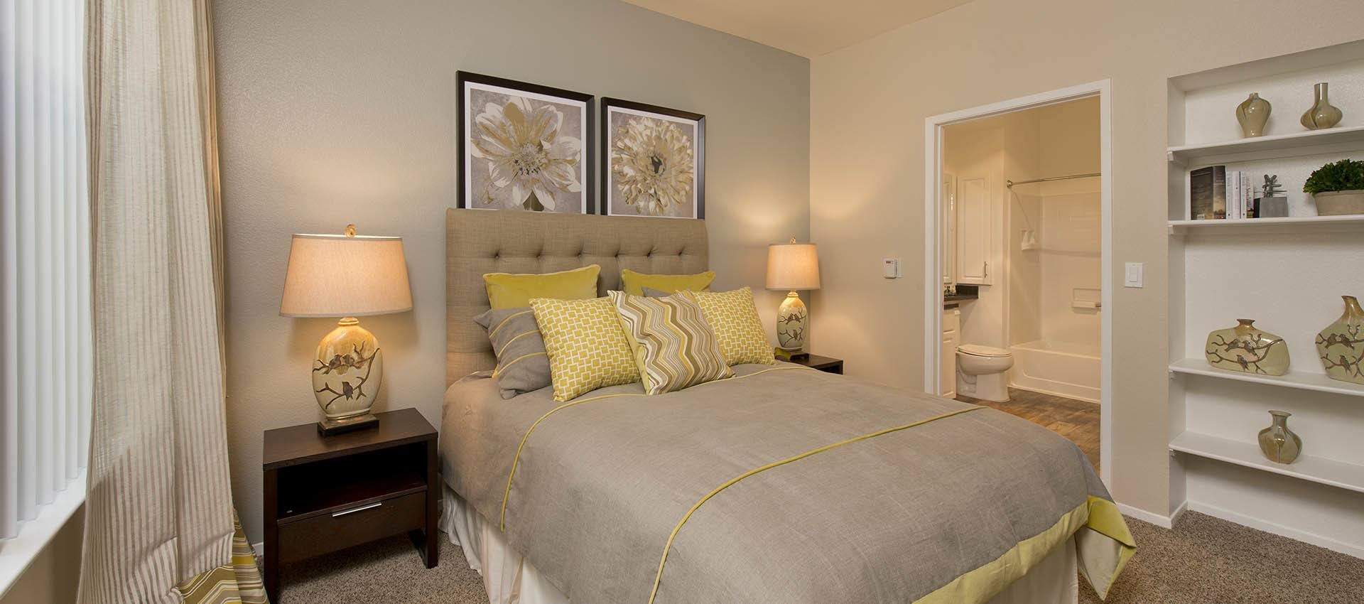 Spacious Bedroom at Rosewalk at San Jose