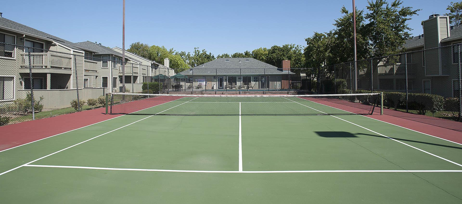 Enjoy the tennis court at Sandpiper Village Apartment Homes