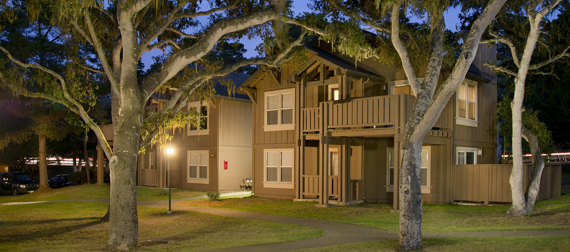 Mature Grounds at Seventeen Mile Drive Village Apartment Homes in Pacific Grove