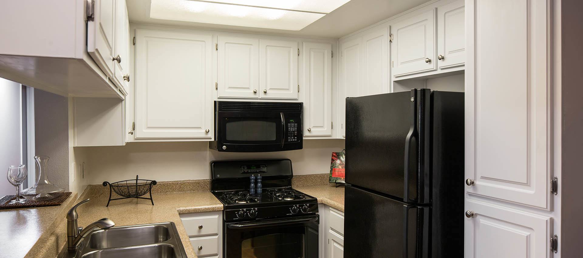 Spacious kitchen at apartments in Simi Valley, CA