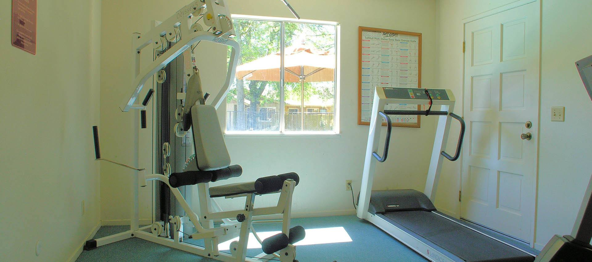 Fitness center at Spring Lake Apartment Homes