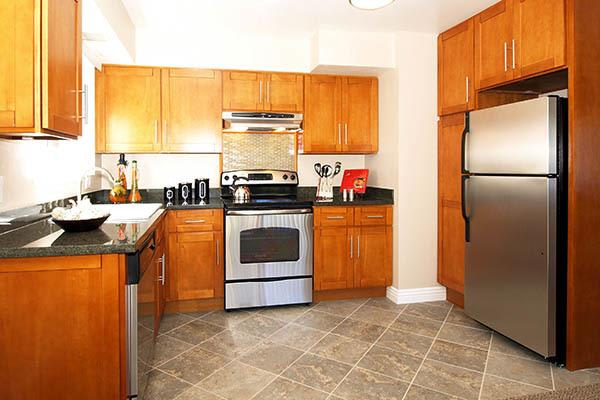Luxury features at Spring Lake Apartment Homes in Santa Rosa