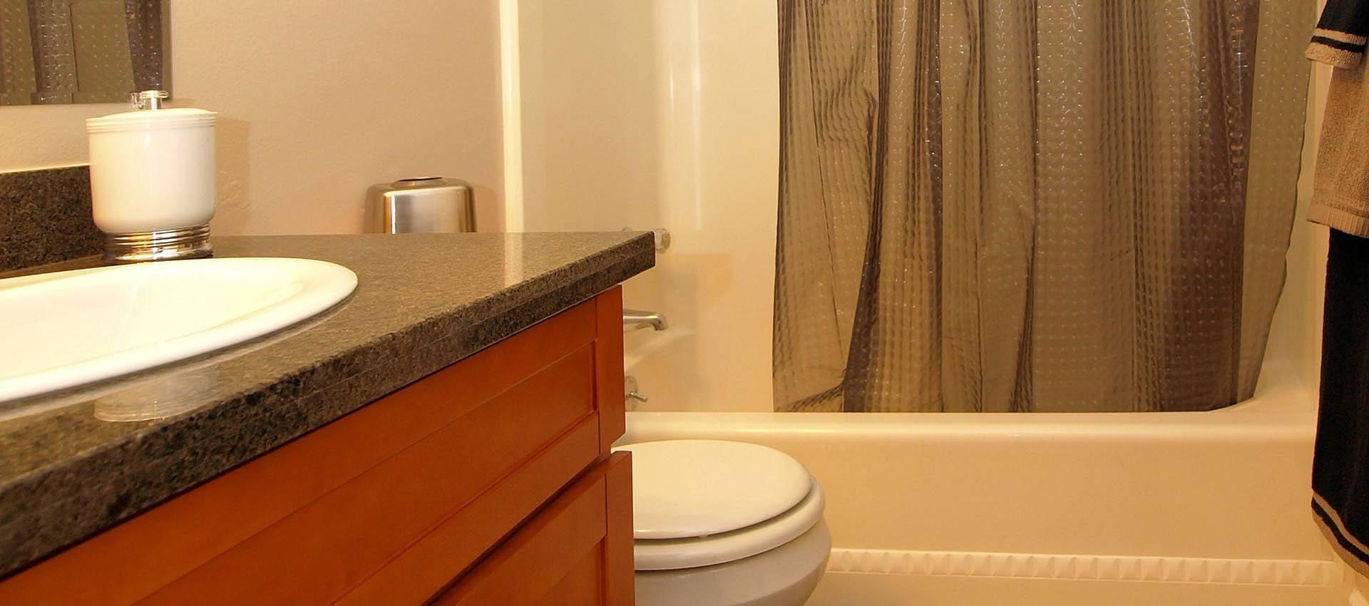 Bathroom at Spring Lake Apartment Homes in Santa Rosa, CA