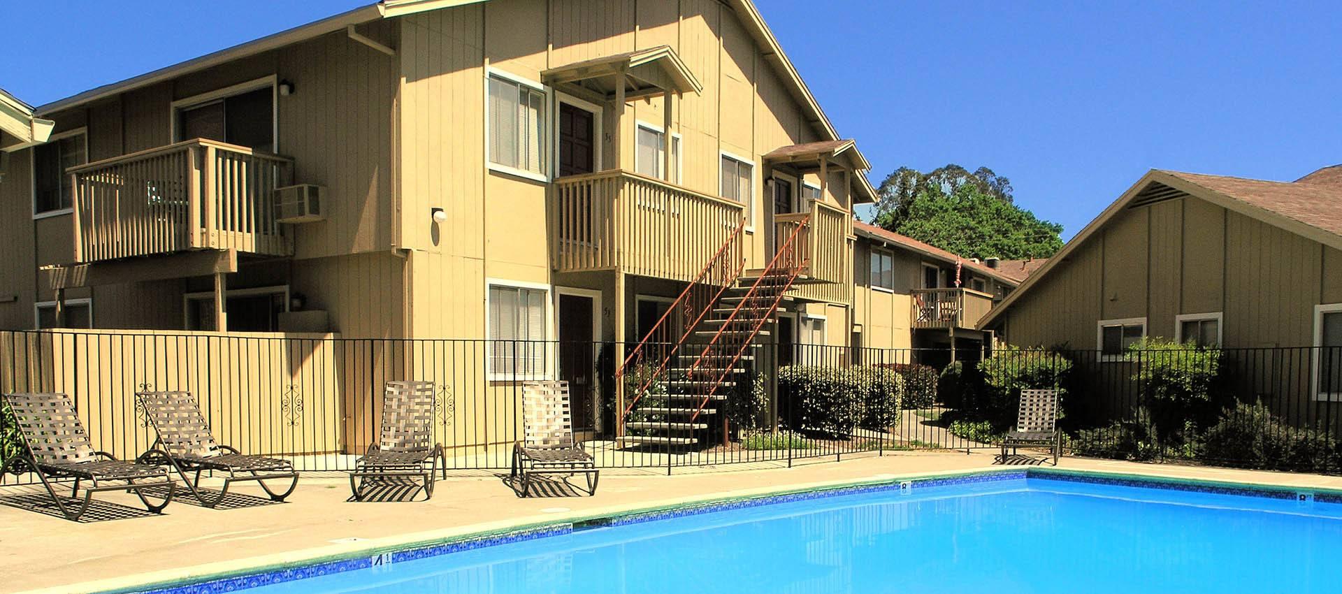 Pool at Spring Lake Apartment Homes in Santa Rosa, CA