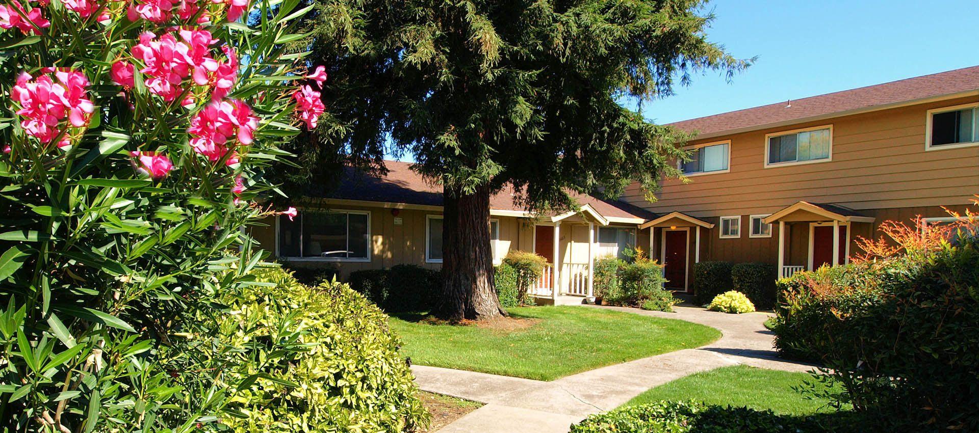 Landscaping at Spring Lake Apartment Homes in Santa Rosa, CA