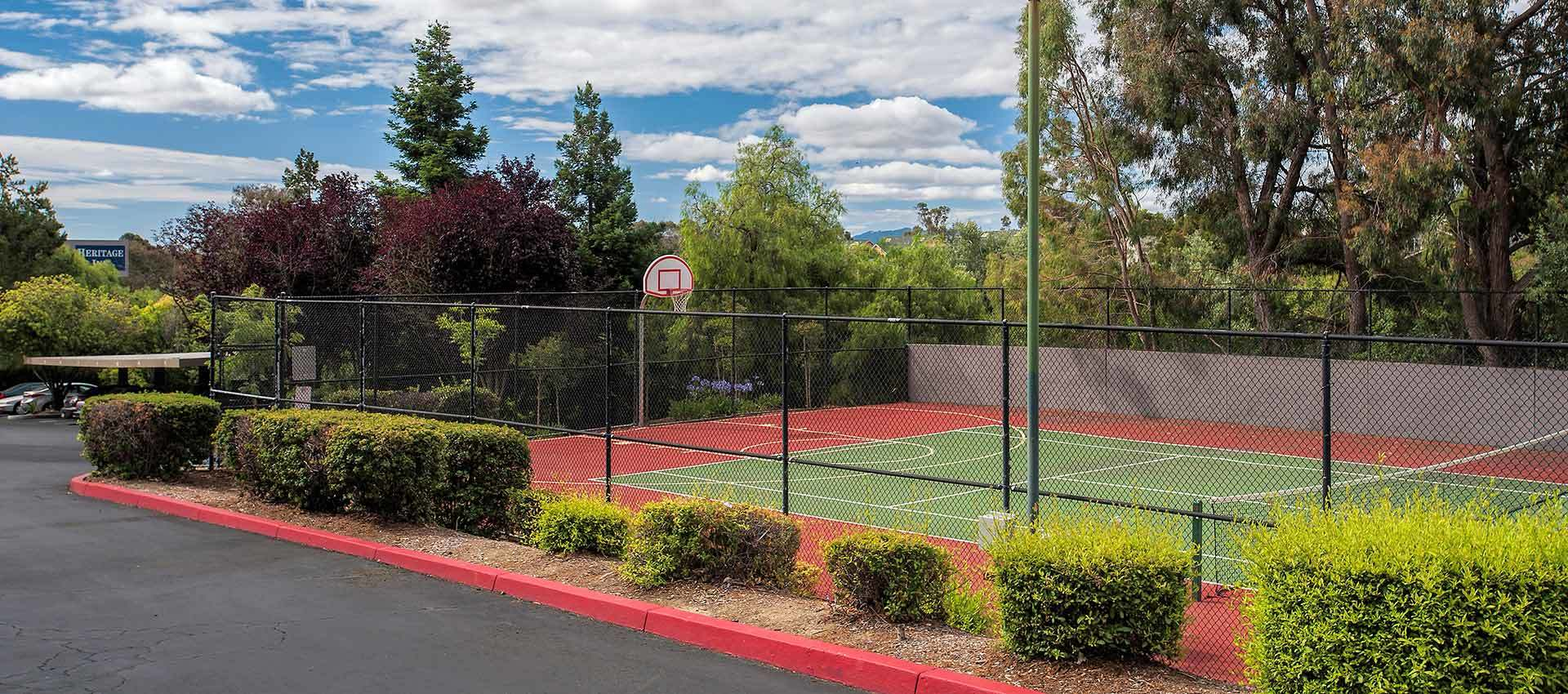 Basketball Court at Sterling Heights Apartment Homes in Benicia