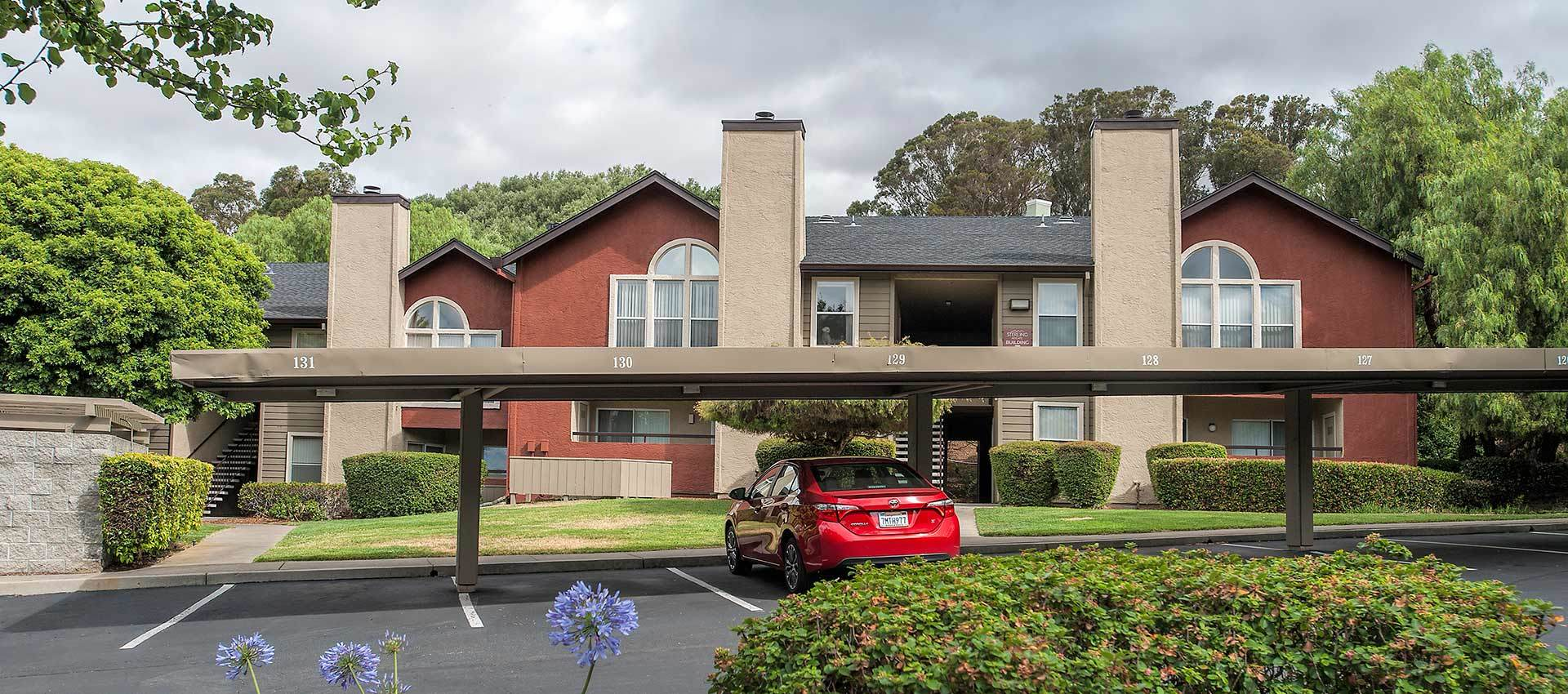 Covered Parking at Sterling Heights Apartment Homes in Benicia, California