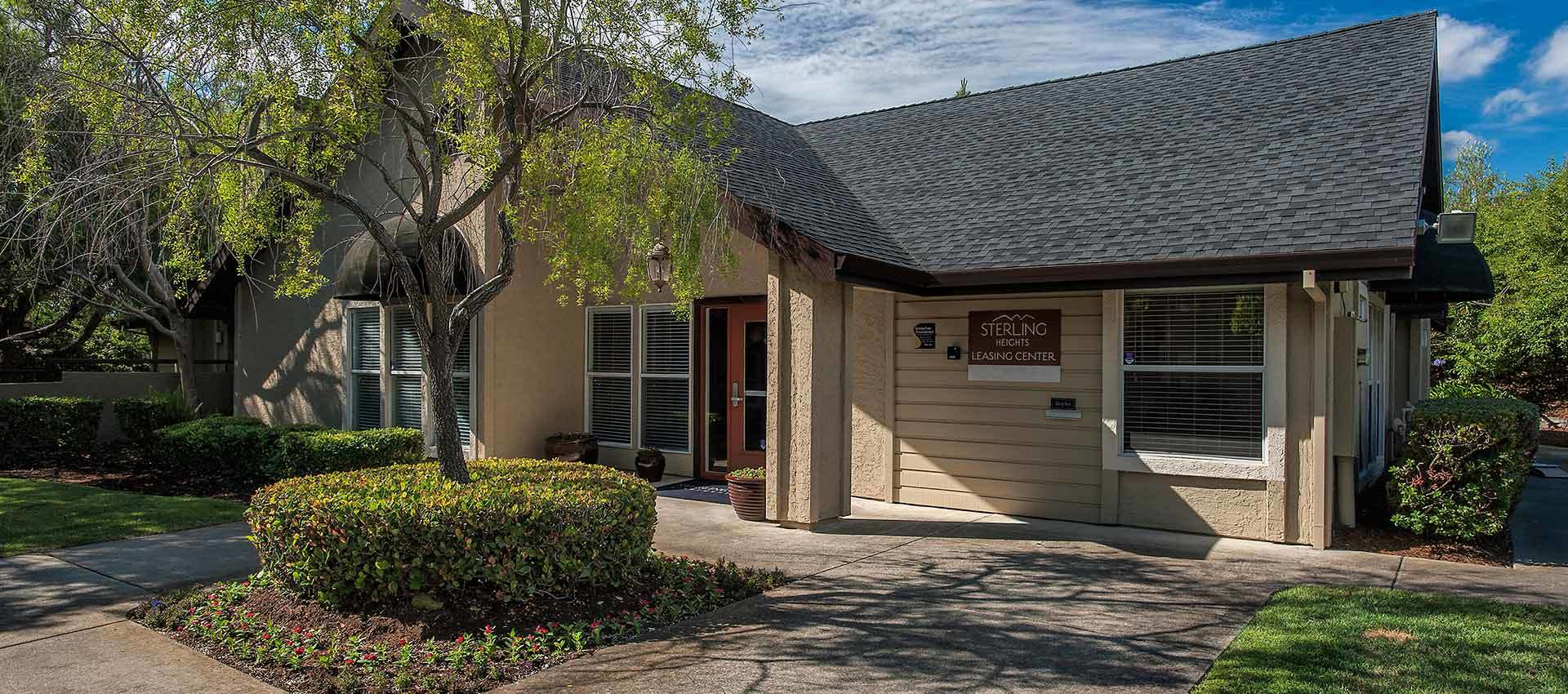 Leasing Office at Sterling Heights Apartment Homes in Benicia