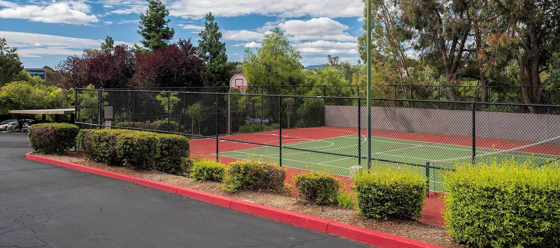 Sport Court at Sterling Heights Apartment Homes in Benicia, California