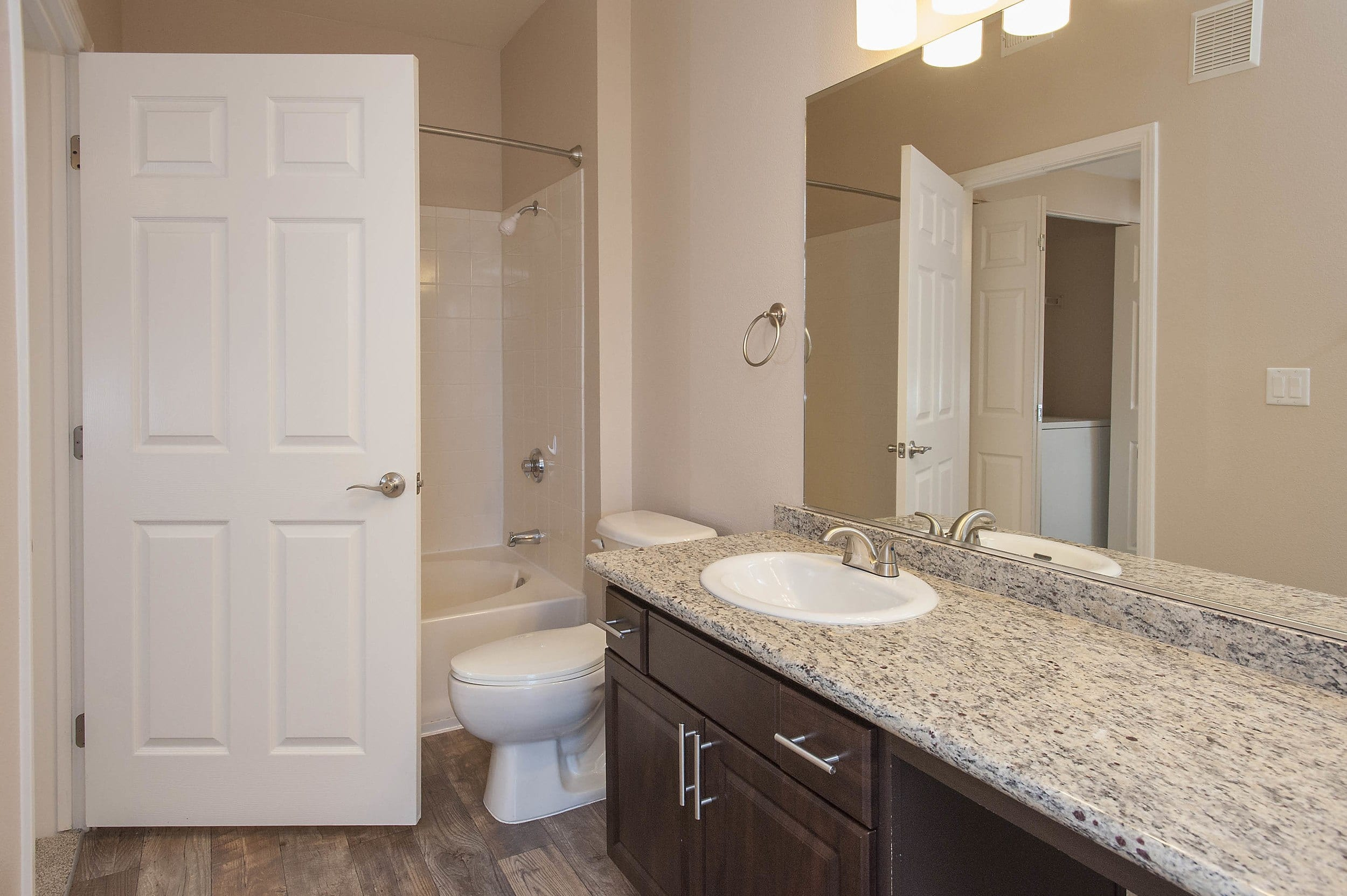 Bathroom at The Vintage at South Meadows Condominium Rentals in Reno