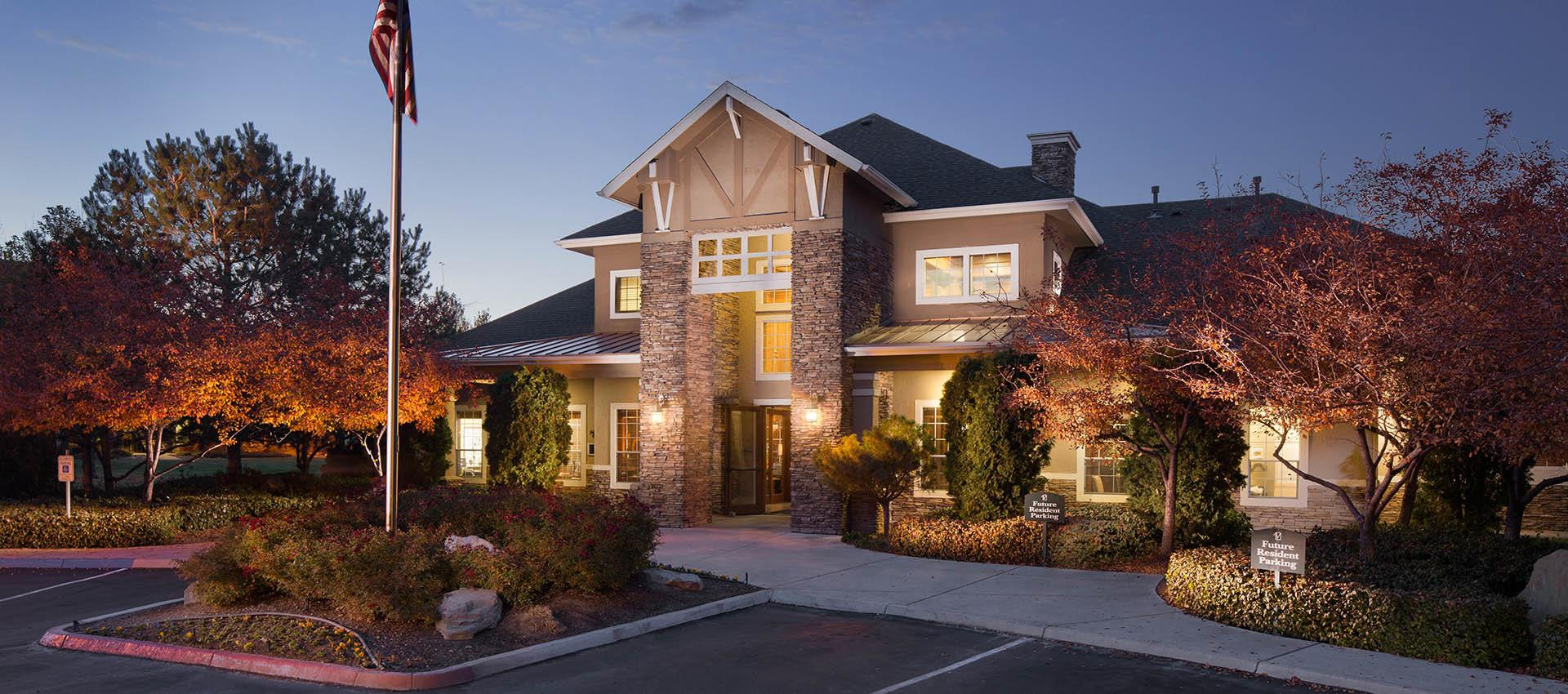 Clubhouse at The Vintage at South Meadows Condominium Rentals in Reno