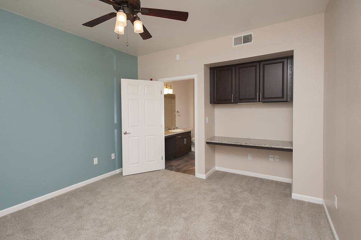 Master bedroom at The Vintage at South Meadows Condominium Rentals in Reno , NV