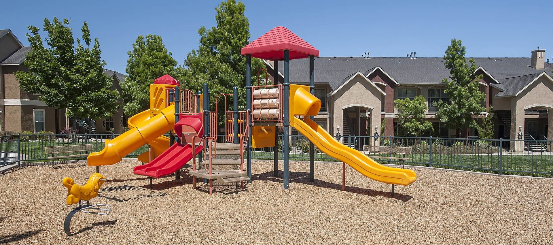 Playground at The Vintage at South Meadows Condominium Rentals in Reno