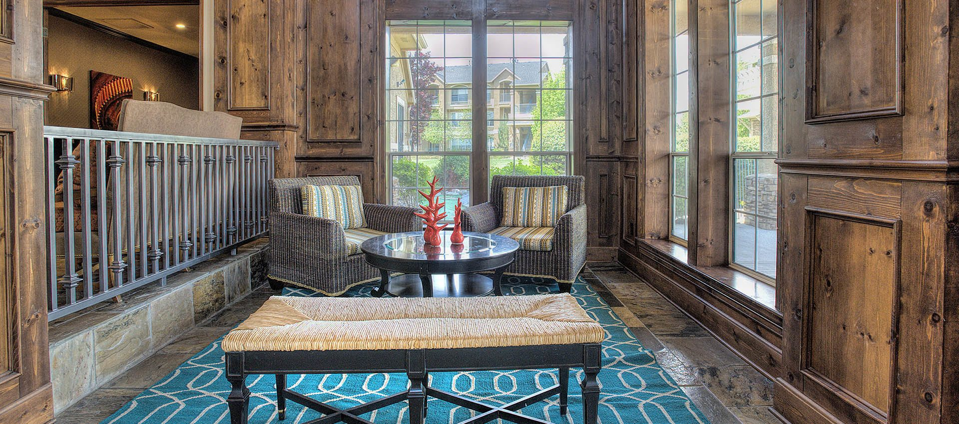 Sunroom at The Vintage at South Meadows Condominium Rentals in Reno