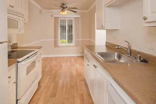 Standard features at Villa Palms Apartment Homes in Livermore
