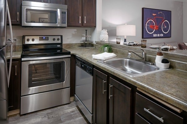Standard features at Waterhouse Place in Beaverton