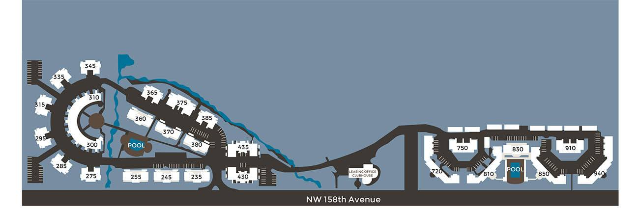 View a map of our property in Beaverton, OR