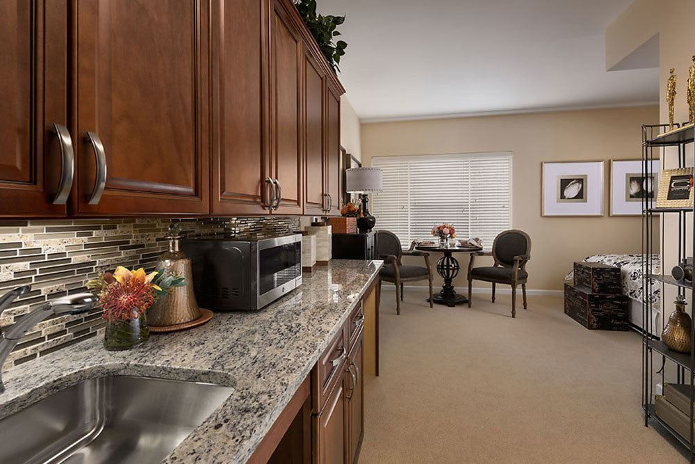 A view of one of the senior apartments at Cedarbrook of Bloomfield Hills