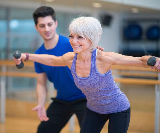 Fitness and wellness programs for seniors at Cedarbrook of Northville