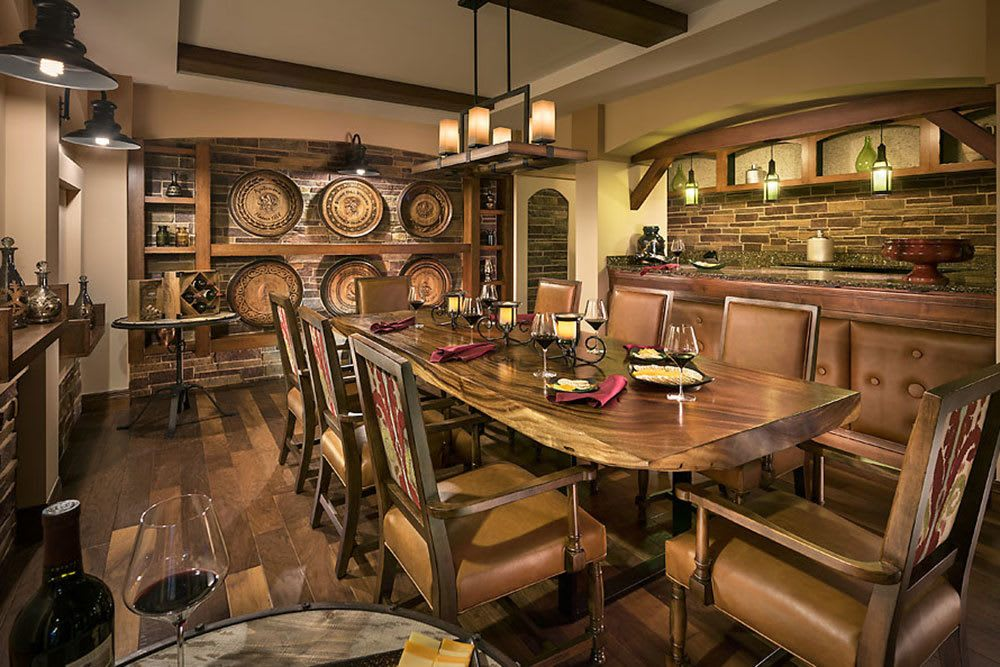 Cedarbrook of Bloomfield Hills features a fine dining venue called the stone hill winery