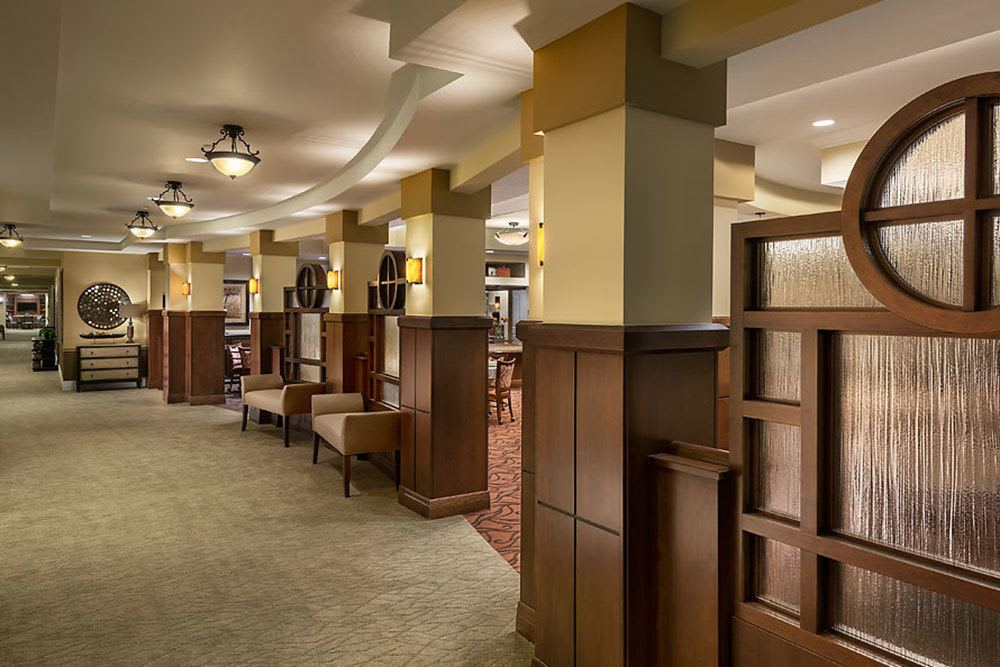 The hallway at our senior living community