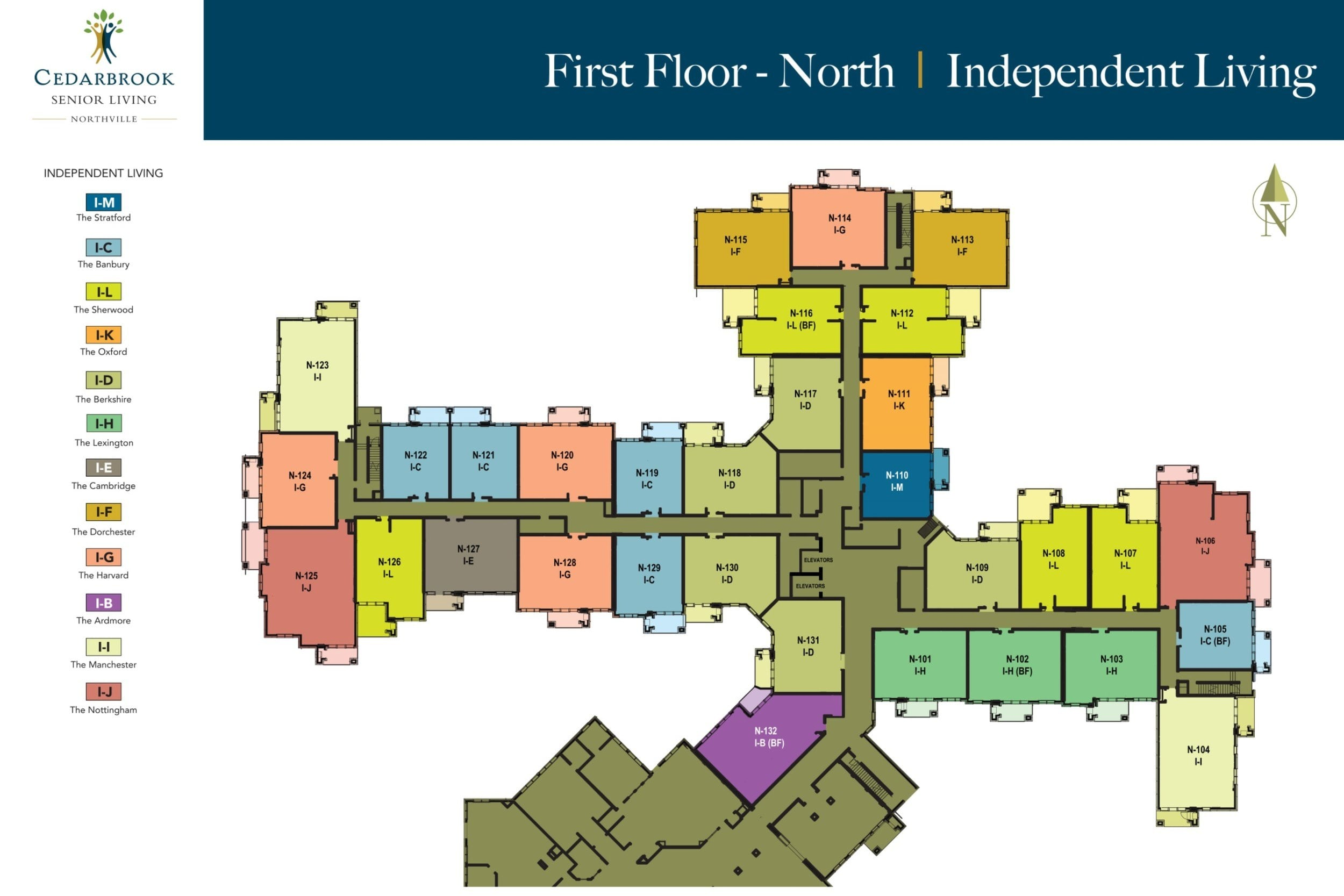 First Floor North - Independent Living
