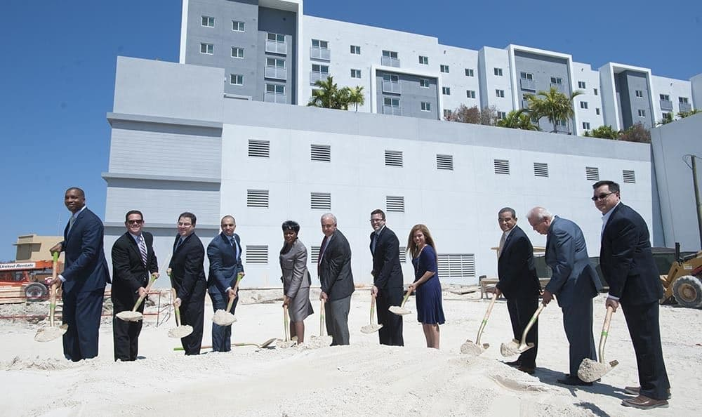 Breaking Ground At Transit Village